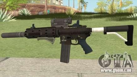 Carbine Rifle Silenced GTA V für GTA San Andreas