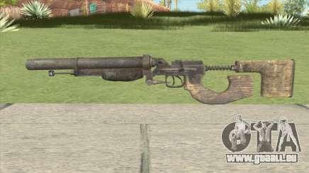 Escopeta Doble Metro 2033 pour GTA San Andreas