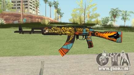 Warface AK-103 (Anubis) für GTA San Andreas
