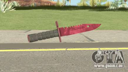 CS:GO M9 Bayonet (Doppler Ruby) pour GTA San Andreas
