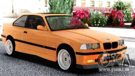 BMW E36 Coupe Orange für GTA San Andreas