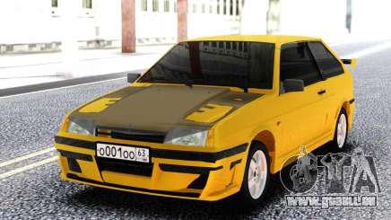 VAZ 2108 Jaune pour GTA San Andreas