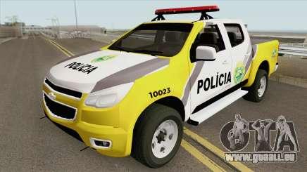 Chevrolet S10 (Policia Militar) pour GTA San Andreas