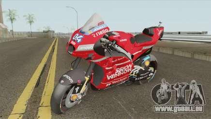Ducati Desmosedici GP19 Andrea Dovizioso pour GTA San Andreas