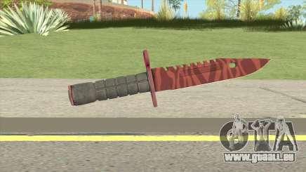 CS:GO M9 Bayonet (Slaughter) pour GTA San Andreas