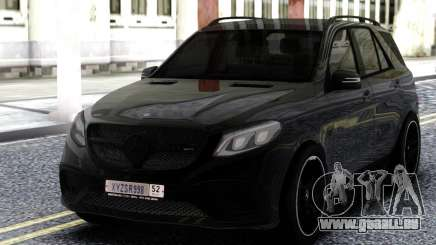 Mercedes-Benz AMG GLE 63 4MATIC pour GTA San Andreas