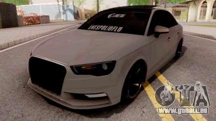 Audi A3 E Edition pour GTA San Andreas