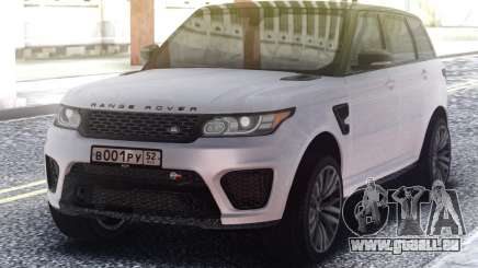 Range Rover Sport SVR White für GTA San Andreas