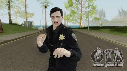 GTA Online Skin V3 (Law Enforcement) pour GTA San Andreas