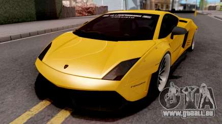 Lamborghini Gallardo LP570 2011 Liberty Walk pour GTA San Andreas