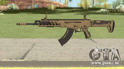 Warface AK-Alfa Gold (Without Grip) pour GTA San Andreas