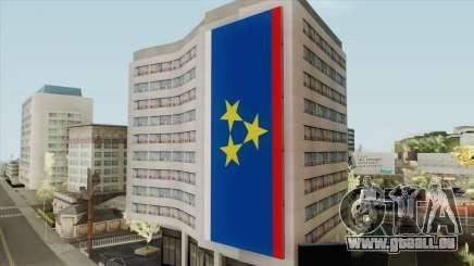 Vojvodina Flag on Building für GTA San Andreas