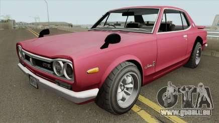 Nissan Skyline 2000 GT-R (KPGC10) 1971 für GTA San Andreas