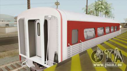 Aerotrain Coach-Observation (GM Aerotrain 1956) für GTA San Andreas