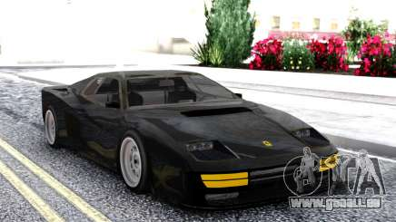 Ferrari Testarossa Black für GTA San Andreas