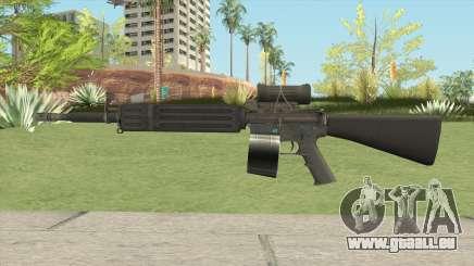 C7 Assault Rifle CMAG pour GTA San Andreas
