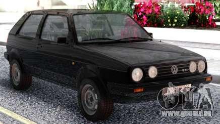 Volkswagen Golf II Black für GTA San Andreas