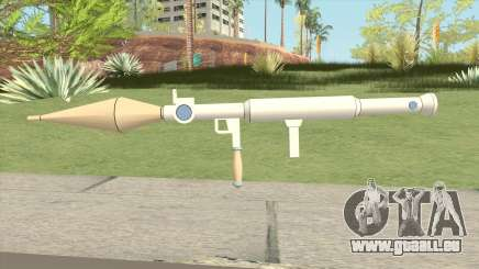 Rocket Launcher (Little Witch Academia) für GTA San Andreas