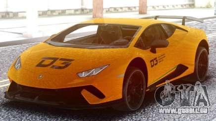 Lamborghini Huracan Performance D3 pour GTA San Andreas