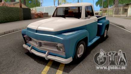 Ford F-100 Deluxe Pickup 1954 Slamvan Style pour GTA San Andreas