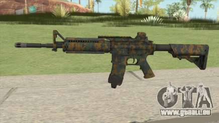 Warface M4A1 (Woodland) pour GTA San Andreas