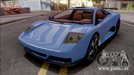 GTA V Pegassi Infernus Blue pour GTA San Andreas