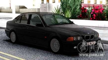 BMW 540i E39 Black pour GTA San Andreas