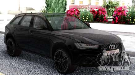 Audi RS6 Travel Black für GTA San Andreas