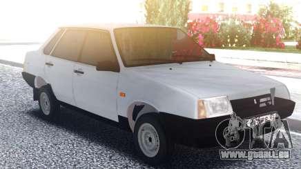VAZ 21099 Berline Blanche pour GTA San Andreas