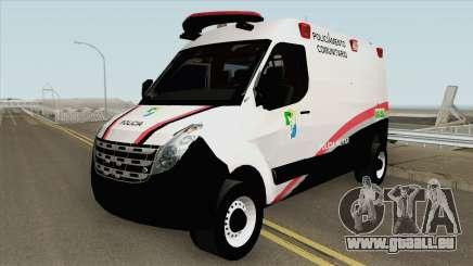 Renault Master (Base Movel PMSE) für GTA San Andreas