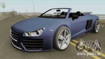 9F Cabrio V1 GTA V für GTA San Andreas