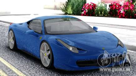 Ferrari 458 Italia Coupe pour GTA San Andreas