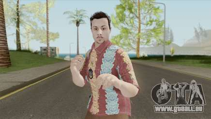 GTA Online Random Skin 29 (IAA Agent Summerwear) pour GTA San Andreas