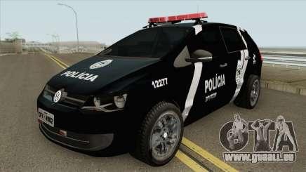 Volkswagen Spacefox 2012 (PMPR) pour GTA San Andreas