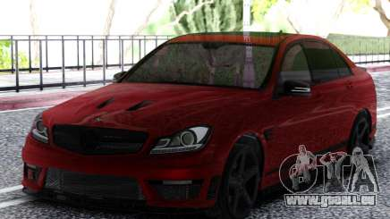 Mercedes-Benz C63 AMG Cherry pour GTA San Andreas