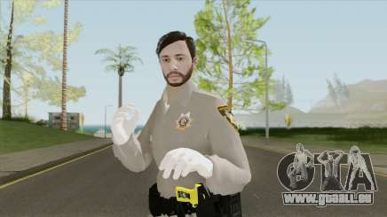 GTA Online Skin V4 (Law Enforcement) pour GTA San Andreas