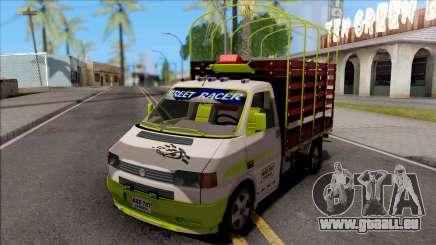Volkswagen Transporter T4 Con Estacas für GTA San Andreas