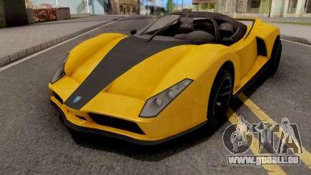 GTA V Grotti Cheetah für GTA San Andreas