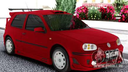 Volkswagen Golf Mk4 1999 Red pour GTA San Andreas
