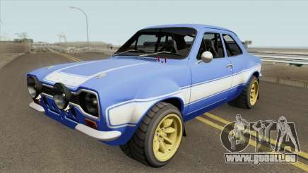Ford Escort MK1 RS1600 FF6 1970 pour GTA San Andreas