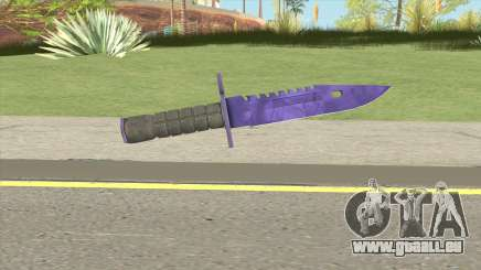 CS:GO M9 Bayonet (Doppler Sapphire) pour GTA San Andreas