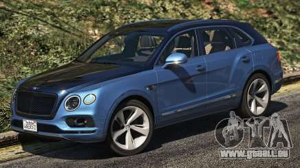Bentley Bentayga für GTA 5