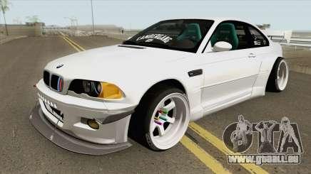 BMW M3 E46 Pandem Custom pour GTA San Andreas