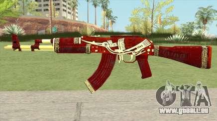 Warface AK-103 (Lake Bird) für GTA San Andreas