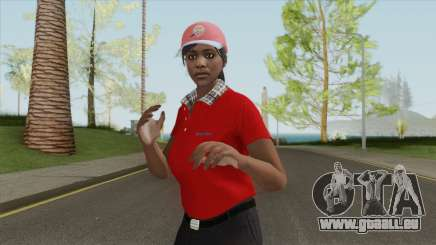 GTA Online Skin V3 (Restaurant Employees) pour GTA San Andreas