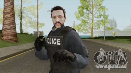 GTA Online Skin V5 (Law Enforcement) pour GTA San Andreas