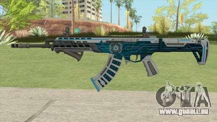 Warface AK-Alfa Syndicate (With Grip) pour GTA San Andreas