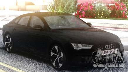 Audi RS7 Restyling Black pour GTA San Andreas