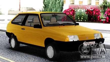 VAZ 2108 Exportation de royaume-UNI Jaune pour GTA San Andreas