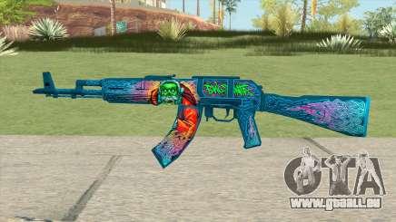 Warface AK-103 (Evil Santa) für GTA San Andreas